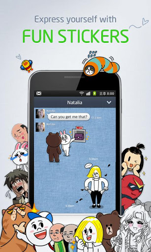 LIne for android 1